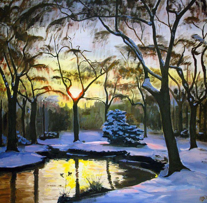 Stanley Park Winter - Michael Dyer