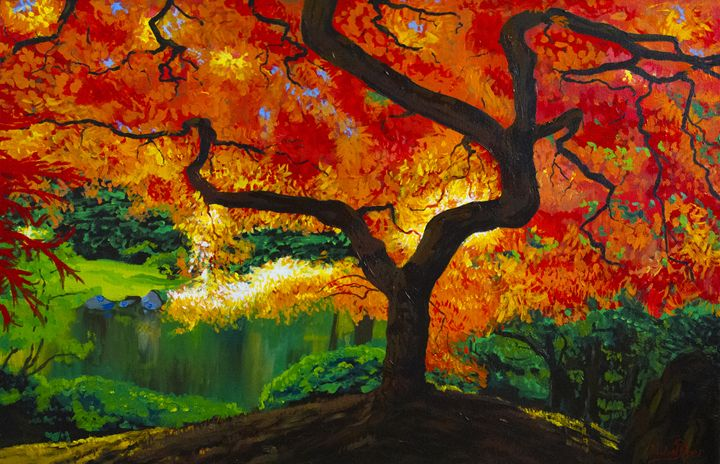 Red Tree - Michael Dyer