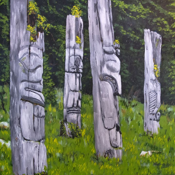 Totems - Michael Dyer