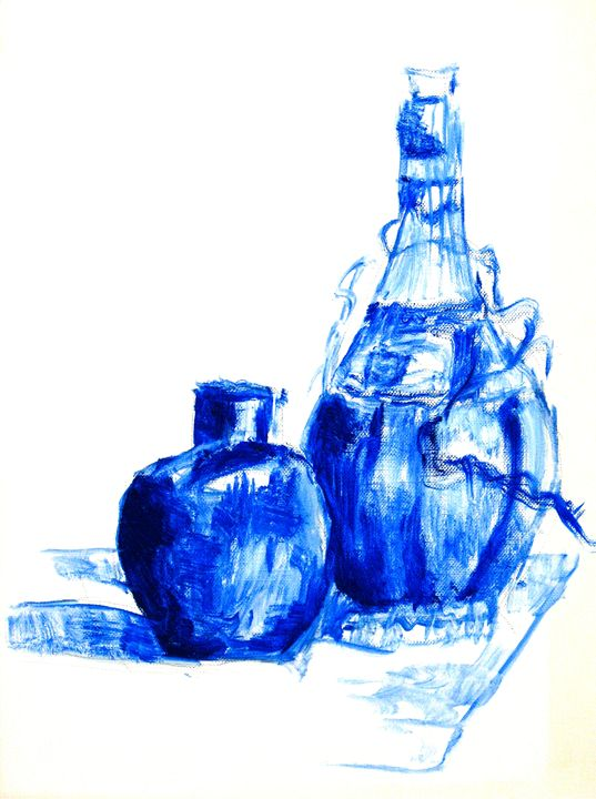 Blue Wine - Michael Dyer