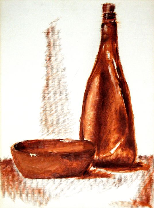 Brown bottle - Michael Dyer