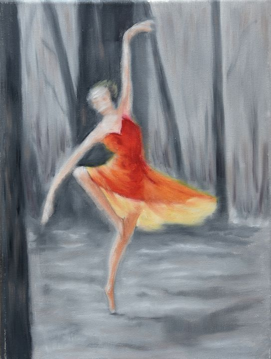 dancing in the forest - peggy's handmade