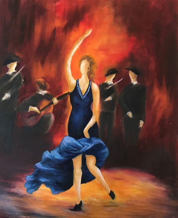 flamengo dance - peggy's handmade