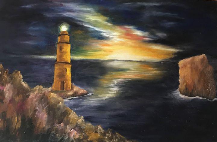 lighthouse - peggy's handmade