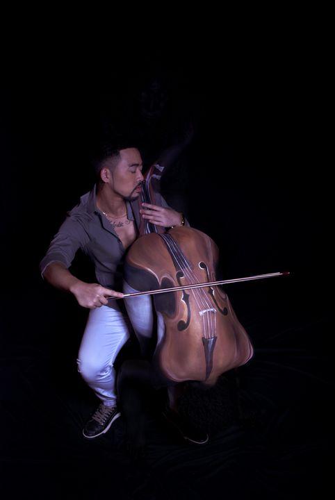 Enchanted Musician--the Cellist - Vonetta Berry