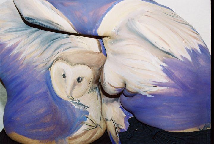 Wings of the Bird-- Owl - Vonetta Berry
