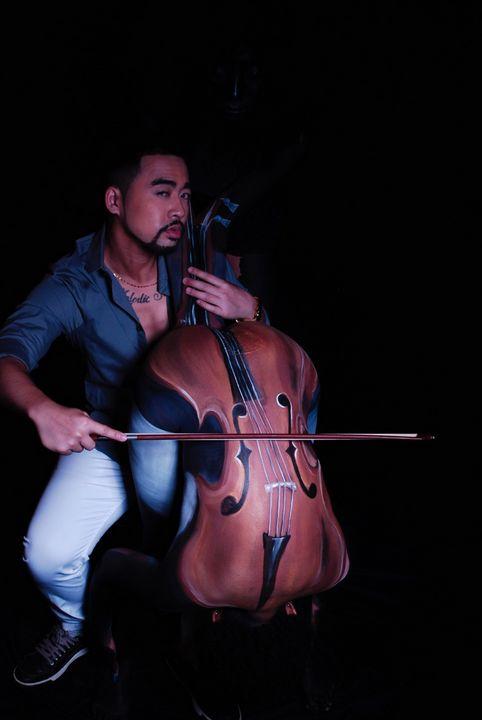 Enchanted Musician-- Cello - Vonetta Berry