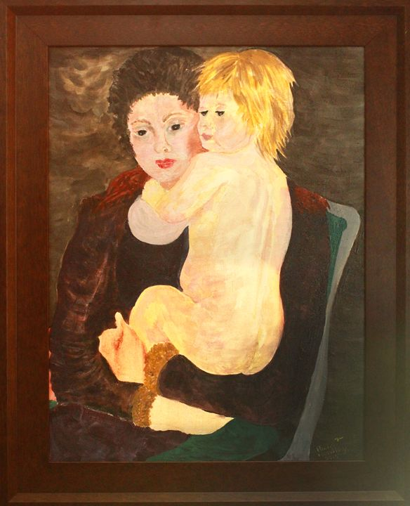 MOTHER AND CHILD - ARTNOVEAUMASTERS