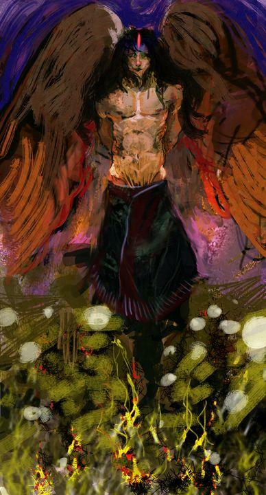 Angel Ajnael - Greencrystaldragon