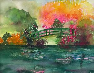 Monet's Green Bridge #1