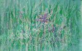 Floral Original canvas i008