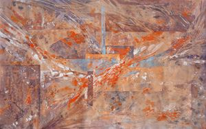 Large abstract painting i001