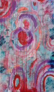 Large abstract painting A028 Ksavera