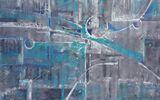 Original abstract canvas