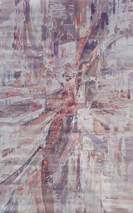 Large abstract painting i004