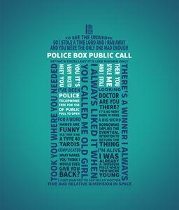 TARDIS Typography