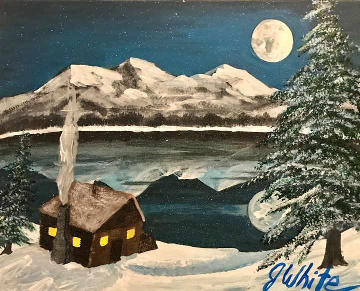 Full Moon Free Shipping in the USA - Unemployed Artist