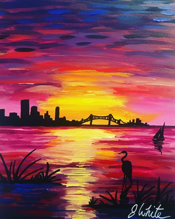 City Life. Free Shipping in the USA - Unemployed Artist