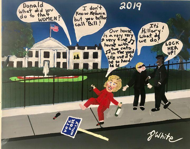 Hillary Lost - Unemployed Artist