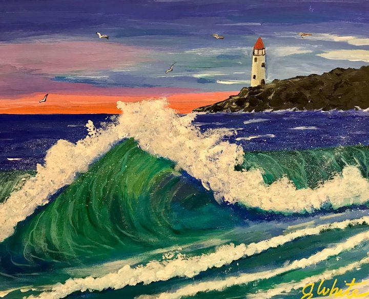 Morning Waves Free Shipping - Unemployed Artist