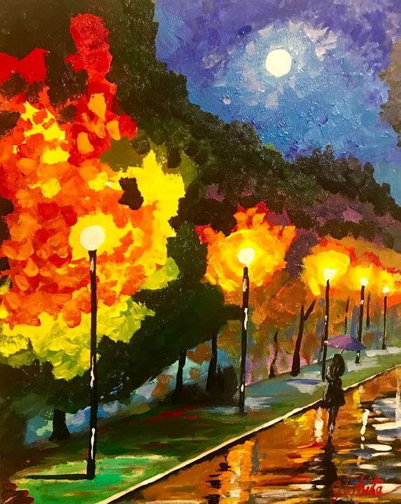 Walking Home Free Shipping in USA - Unemployed Artist