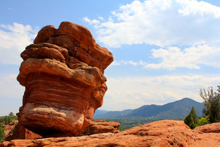Leaning Rock - Photos By NurseRies