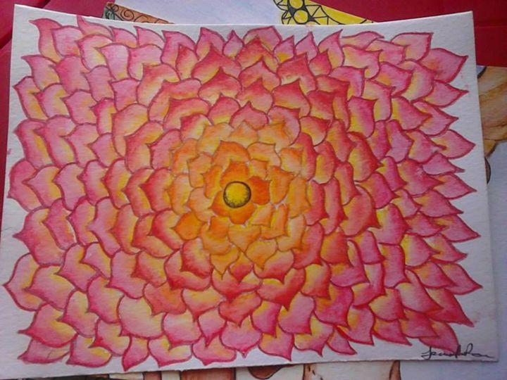 flower - Jennifer Rose Art