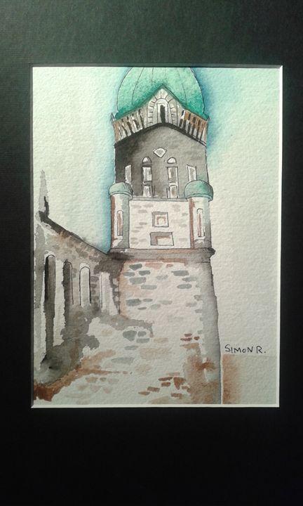 stone church - Jennifer Rose Art