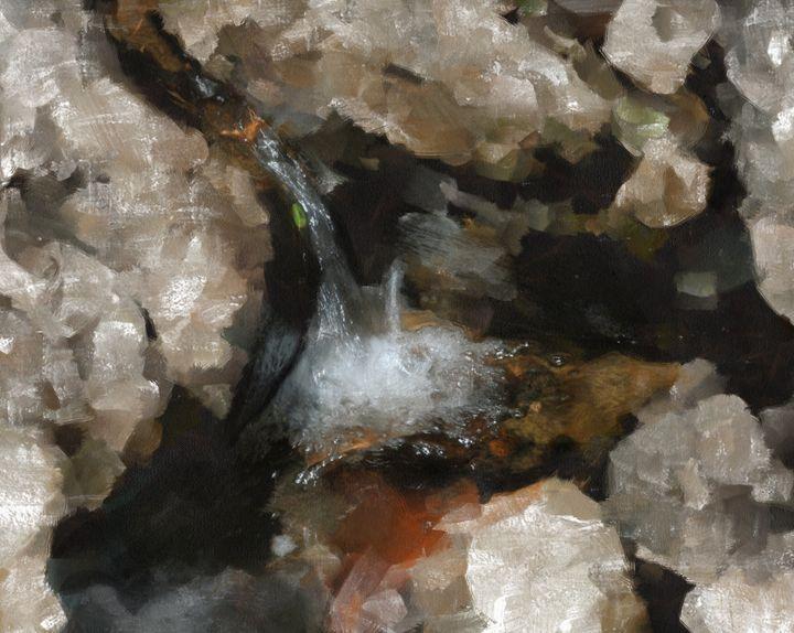LITTLE WATER FALL - DIGITAL ARTOGRAPHY