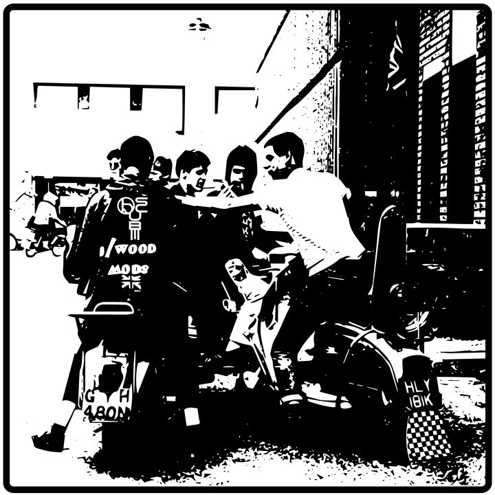 We are the Mods - Obscure Prints