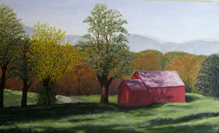 Luscious Vermont - The View Out My Window: paintings by Gary Conger