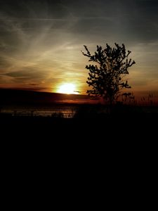 Roanoke Island Sound Sun Set - OBX Expressions