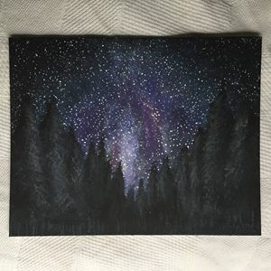 A Wooded Galaxy