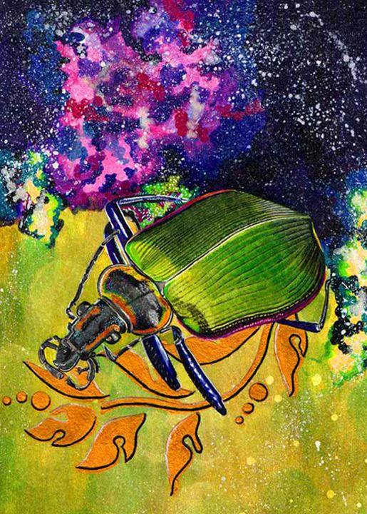Intergalactic Beetle - Shamazing Artwork