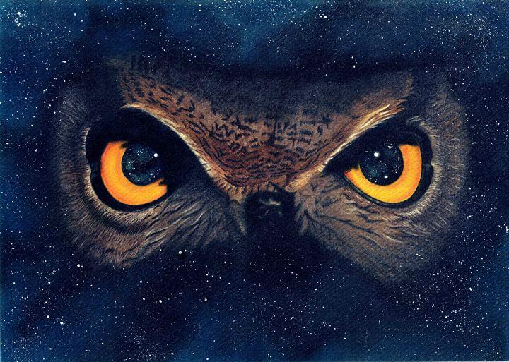 Space Owl - Shamazing Artwork