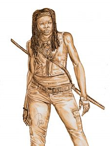 Michonne - Natural Born Smartistic