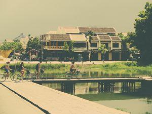 Corner of Hoi An, Vietnam