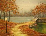 18 x 24 inch Acrylic Autumn Colors
