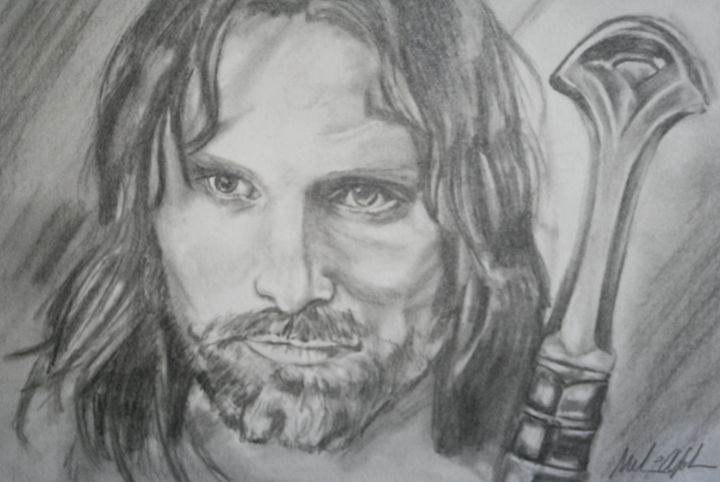 Aragorn - The Art of Melissa Johnson