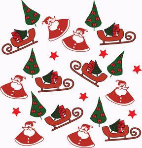 Illustration Christmas Santa Claus - Eva Design