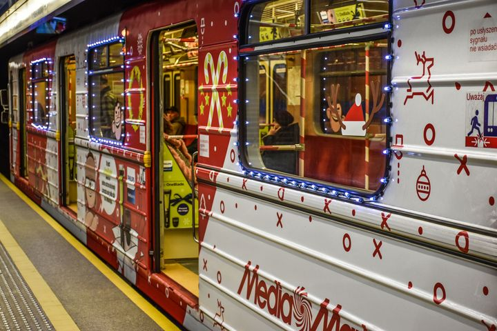Merry Christmas Metro/Subway - Eva Design