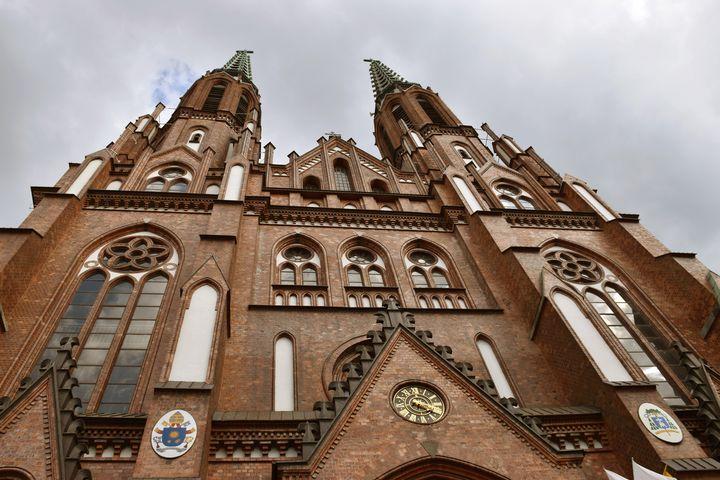 Architecture Cathedral Poland - Eva Design