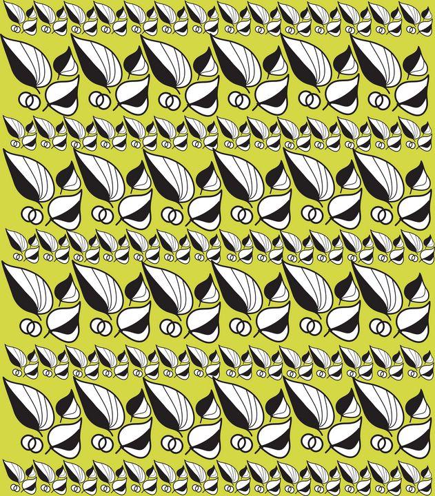 Graphic Floral Pattern Summer - Eva Design