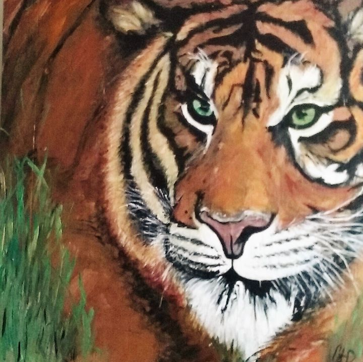Storybook Tiger - Art For the Master