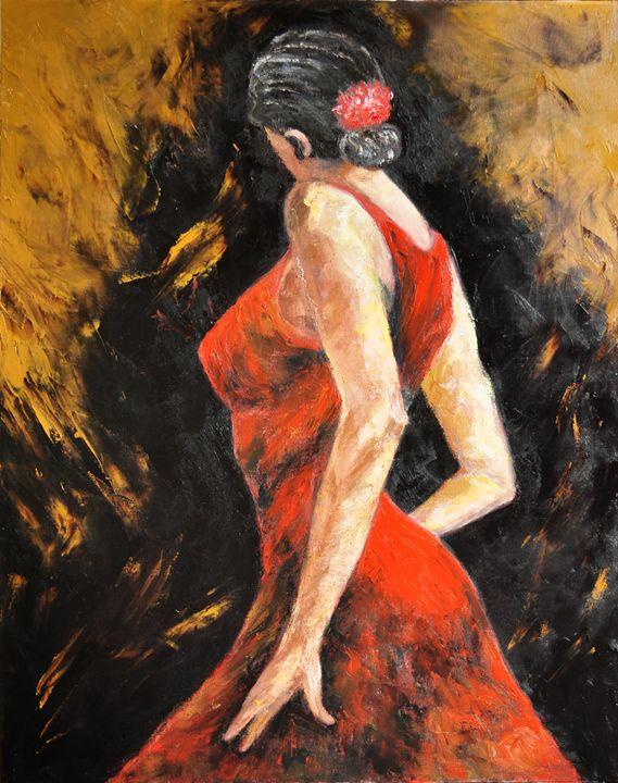Tango Dancer - Terry Sita