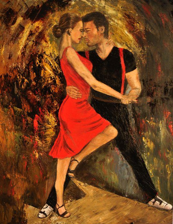 Tango dancers 3 - Terry Sita