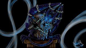 Nightmare Demon Chained