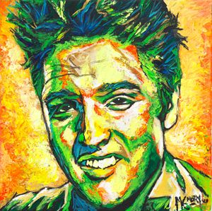 Palette-Knife Elvis