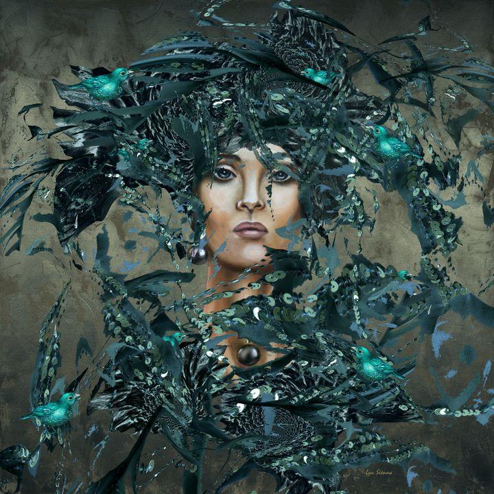 """Emerald rain"" - Lyu Sienna"