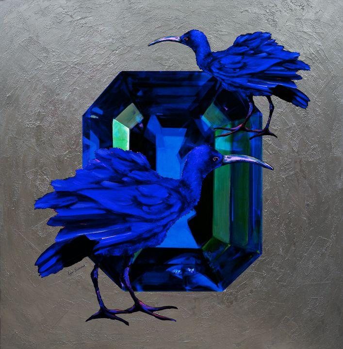 """""""Blue birds"""" - Lyu Sienna"""